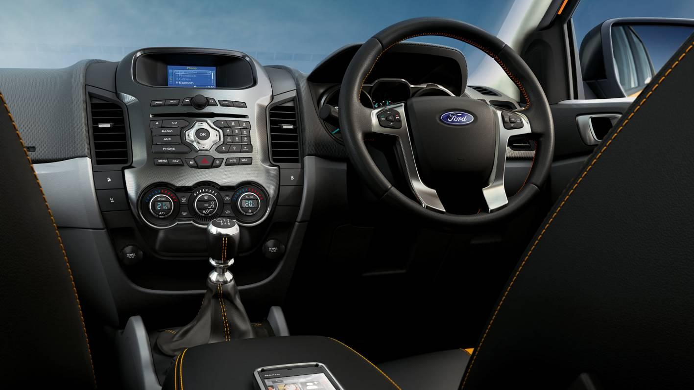 2012 Ford Ranger Wildtrack Interior