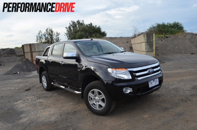 2012 ford ranger xlt double cab review performancedrive. Black Bedroom Furniture Sets. Home Design Ideas
