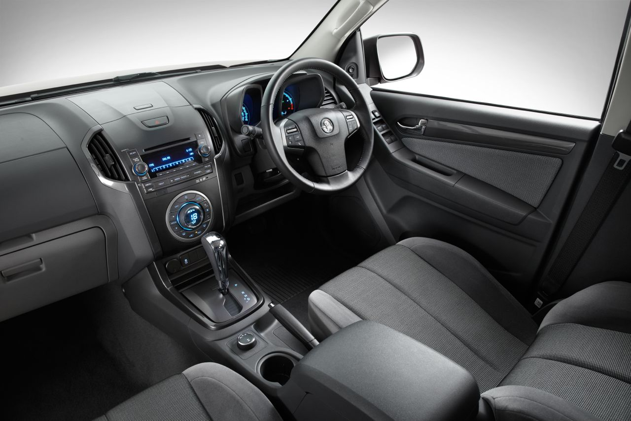 2012 Holden Colorado Ltz Interior