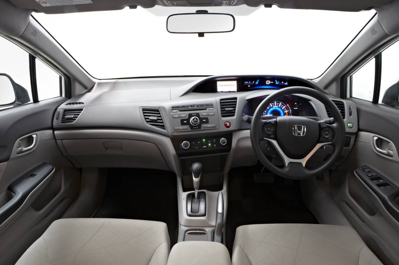 2012 honda civic sedan series ii now on sale in australia for 2012 honda civic interior