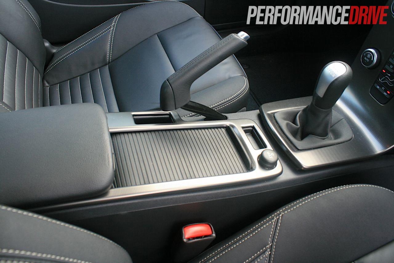 2012 Volvo C30 T5 Polestar centre console