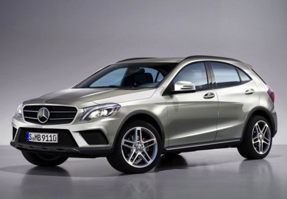 Mercedes benz gla 39 a b class crossover 39 confirmed for Mercedes benz gla crossover