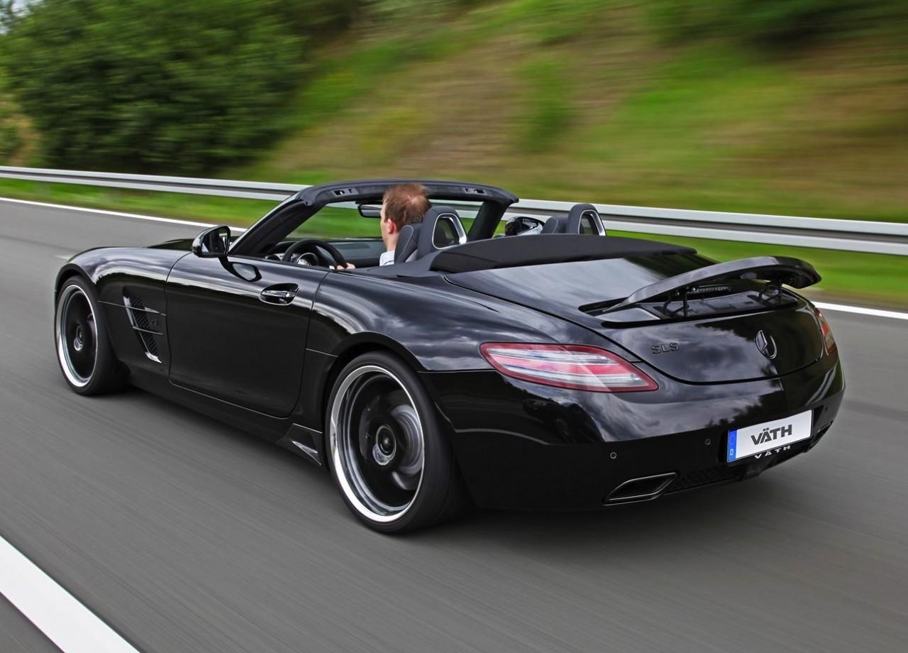 vath mercedes benz sls amg roadster with 515kw performancedrive. Black Bedroom Furniture Sets. Home Design Ideas
