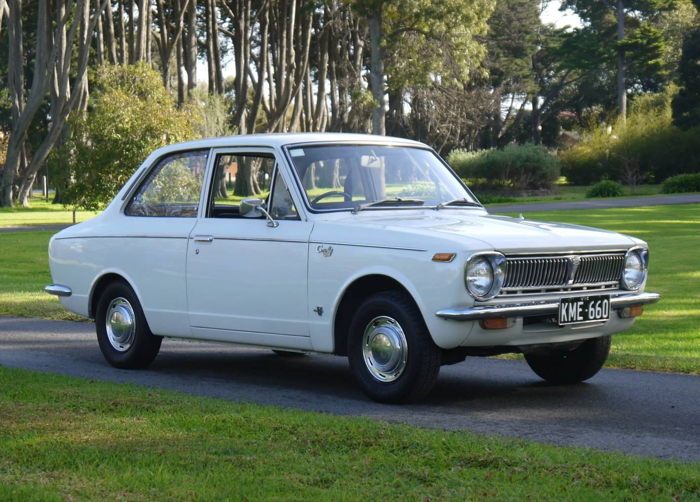1970 toyota corolla spring classic auction. Black Bedroom Furniture Sets. Home Design Ideas
