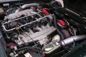 1977 Jaguar XJS V12 twin-turbo engine