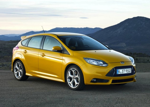 2012 Ford Focus ST on sale in Australia priced from $38...