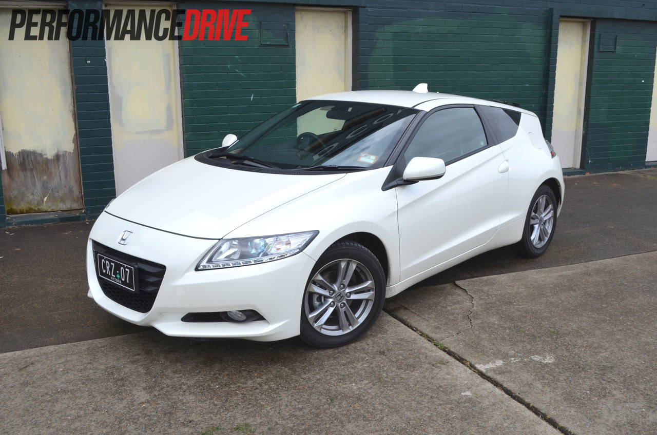 2012 Honda CR-Z Sport – front side