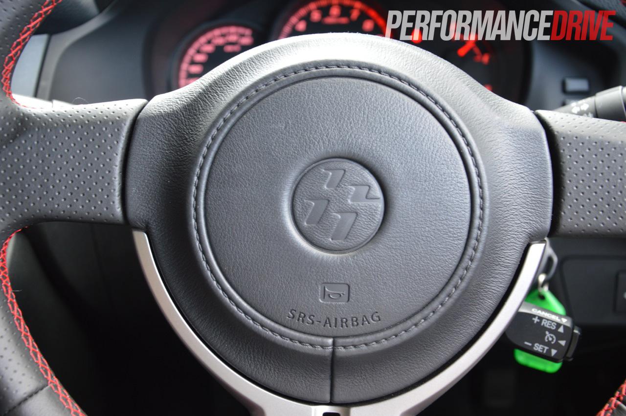 2012 toyota 86 gt steering wheel 86 logo. Black Bedroom Furniture Sets. Home Design Ideas