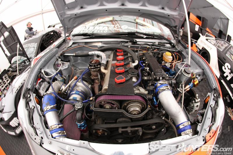 Speedhunters Toyota Drift Car Shows Off Engine