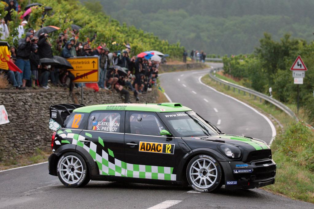 chris atkinson mini cooper world rally championship germany 1 |