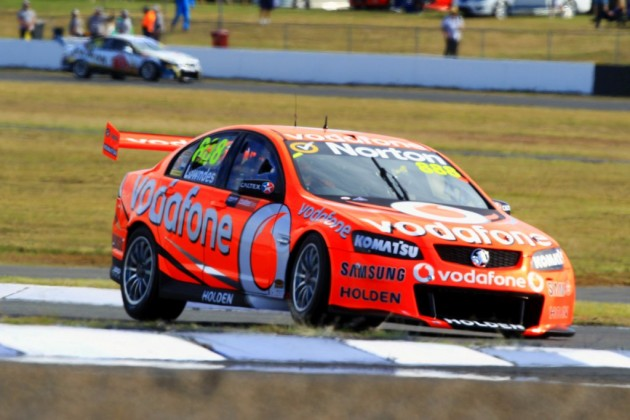 Craig Lowndes wins race one V8 Supercars Ipswich 300