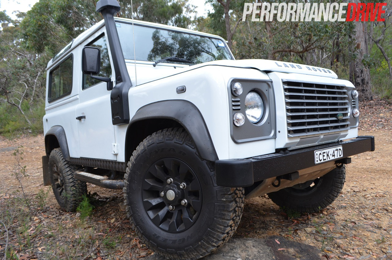 2012 Land Rover Defender 90 off road