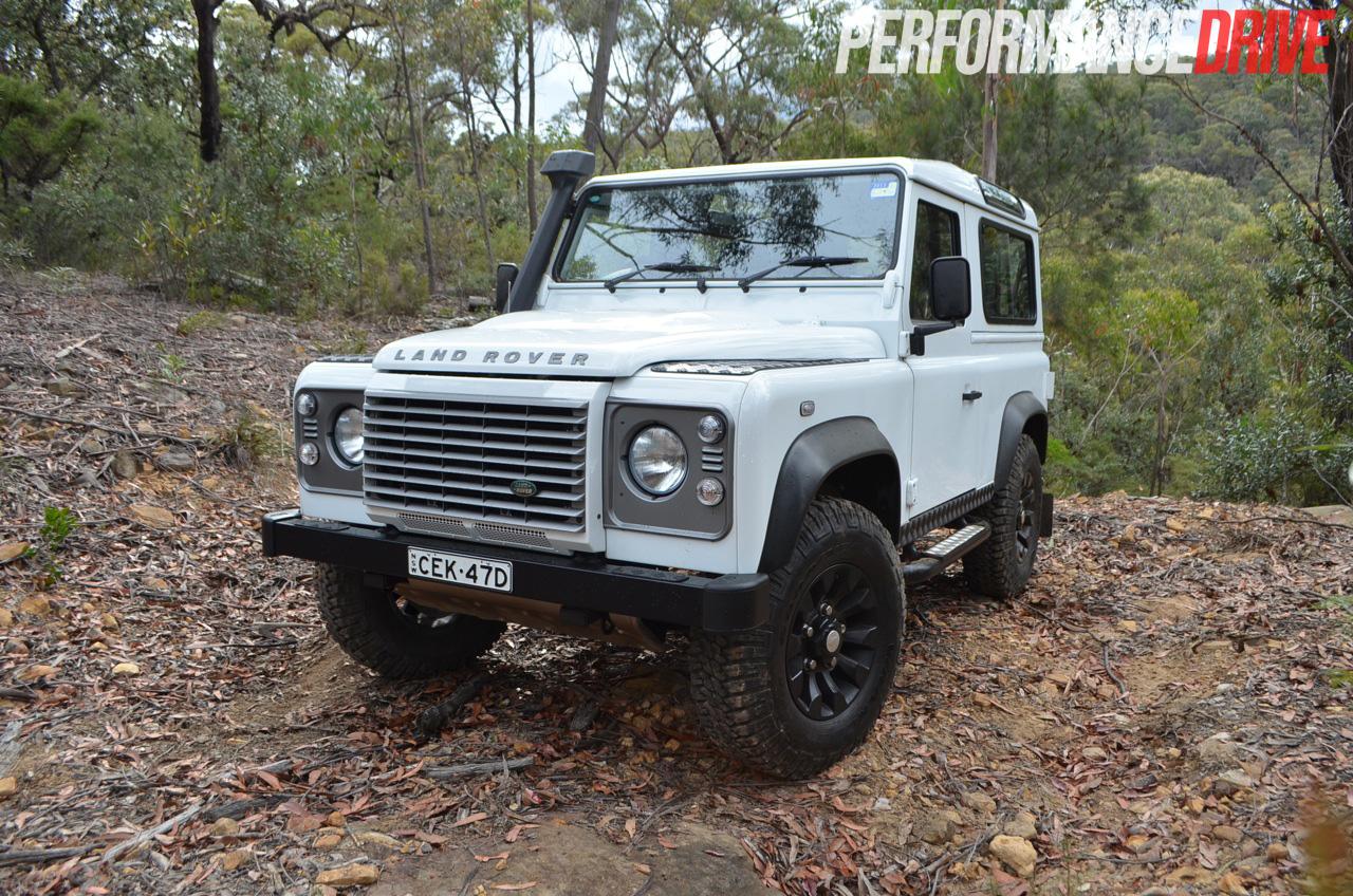 2012 Land Rover Defender 90 Off Road