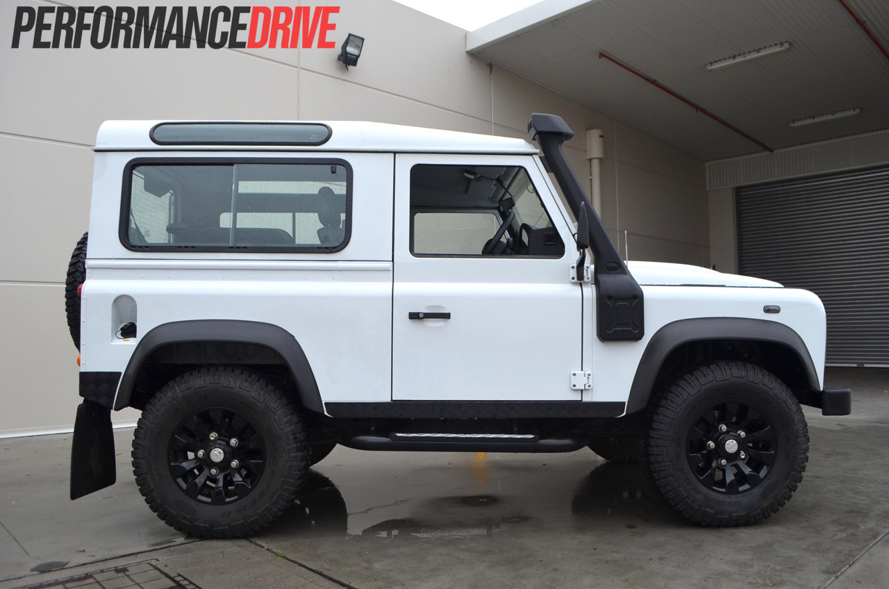 Land Rover Defender 90 Review Performancedrive