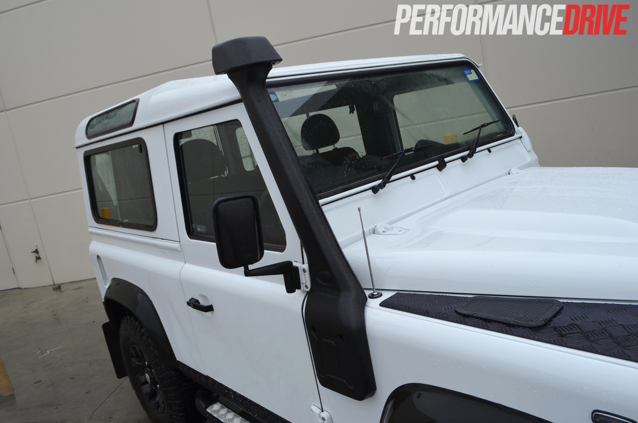 2012 Land Rover Defender 90 snorkel