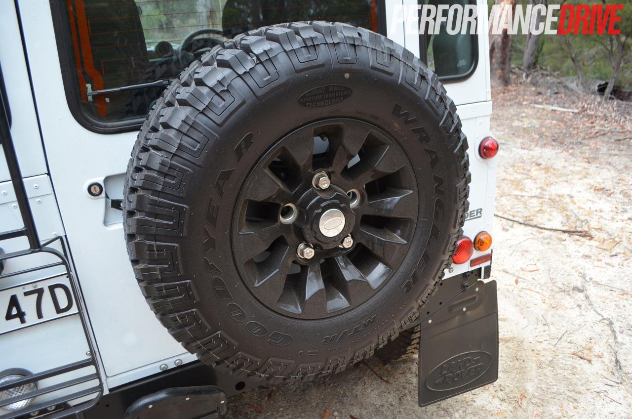 2012 Land Rover Defender 90 Spare Wheel