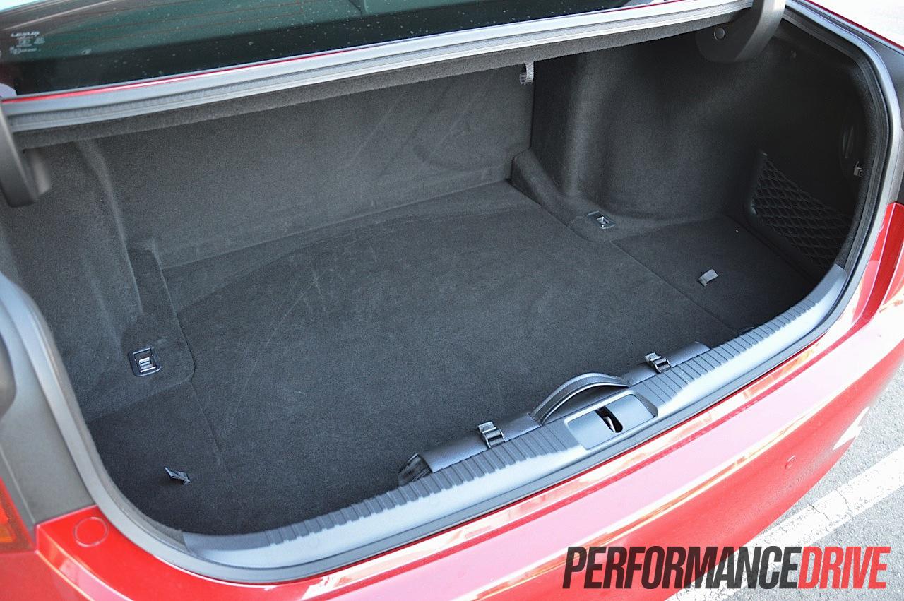 2012 Lexus Gs 450h F Sport Boot