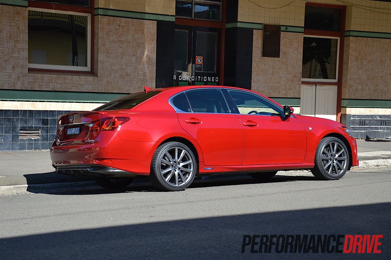 2012 lexus gs 450h f sport review video performancedrive. Black Bedroom Furniture Sets. Home Design Ideas