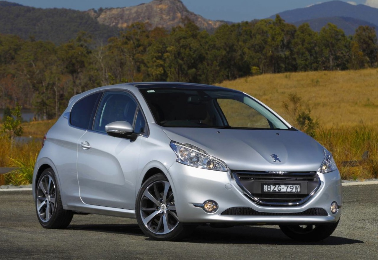 peugeot 208 on sale in australia from 18 490. Black Bedroom Furniture Sets. Home Design Ideas
