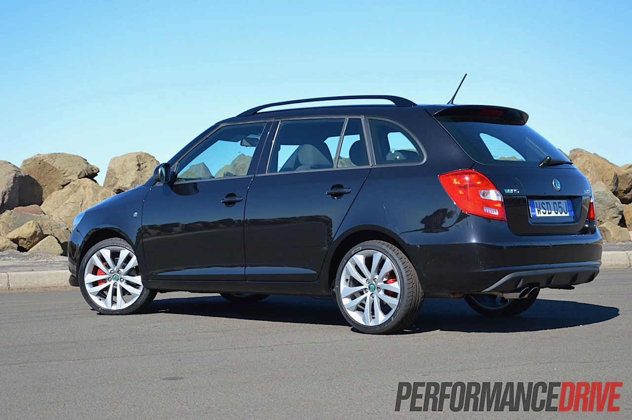 2012 skoda fabia rs wagon black magic performancedrive. Black Bedroom Furniture Sets. Home Design Ideas