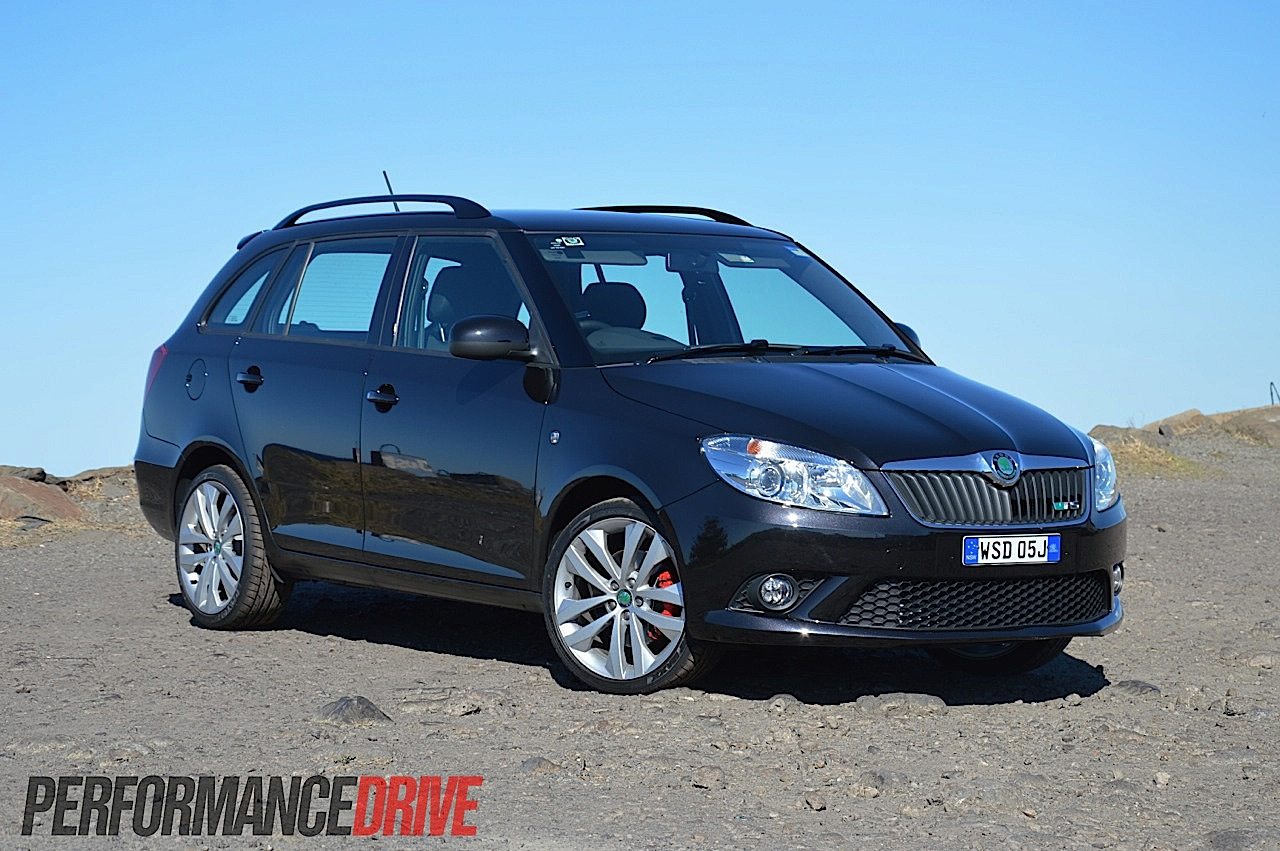 2012 skoda fabia rs wagon review video performancedrive. Black Bedroom Furniture Sets. Home Design Ideas