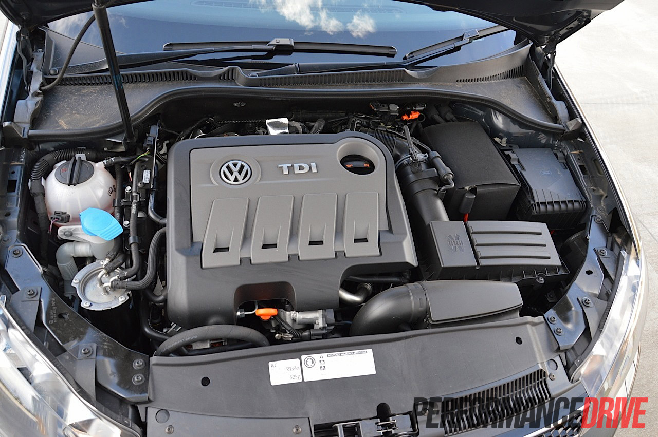 2012 Volkswagen Golf Gtd Engine