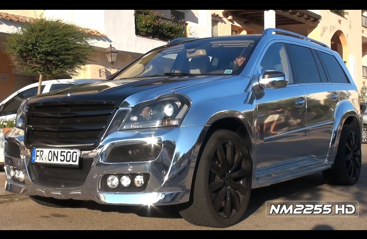 art chrome mercedes benz gl 500