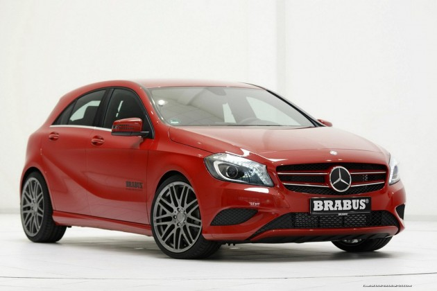 BRABUS 2012 Mercedes-Benz A-Class tuning preview