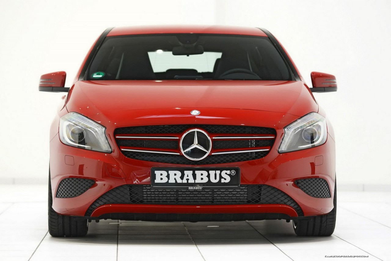 brabus 2012 mercedes benz a class tuning preview performancedrive. Black Bedroom Furniture Sets. Home Design Ideas