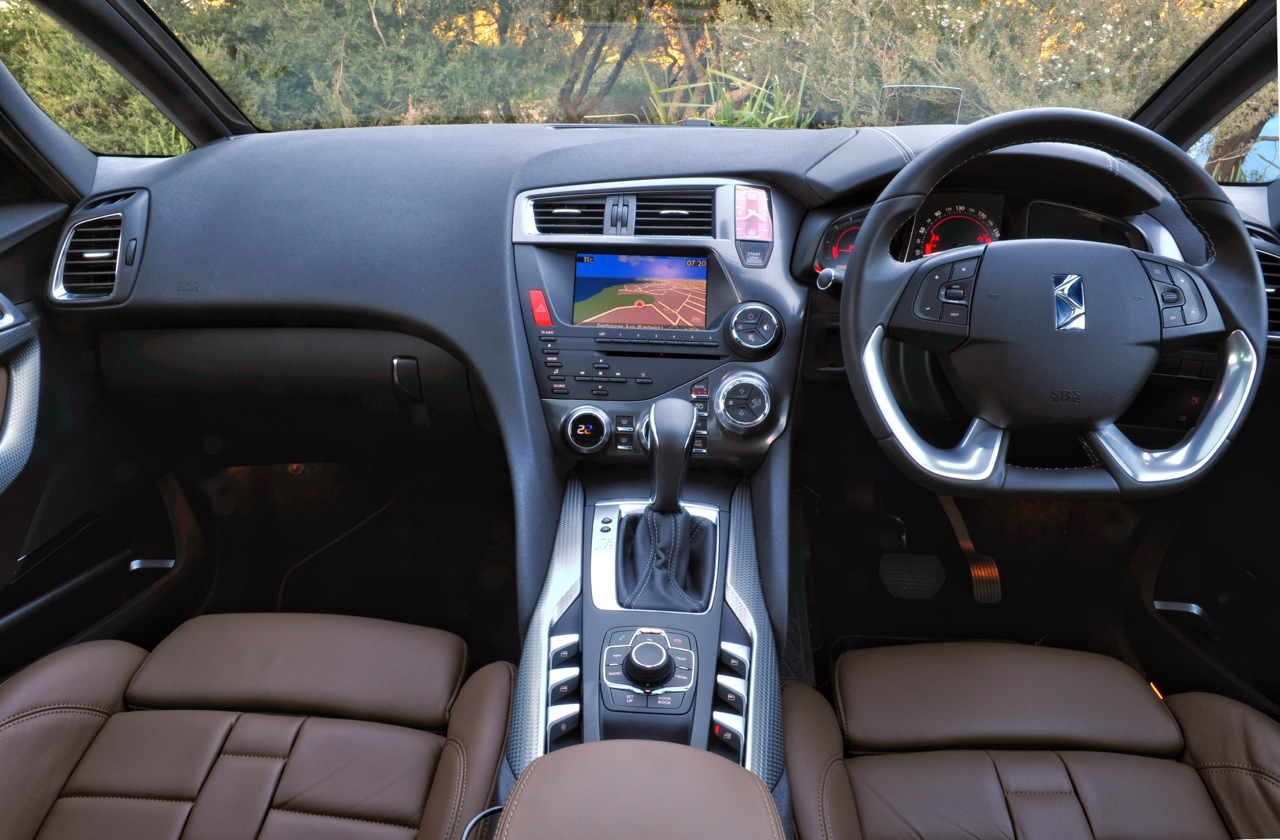 Citroen Ds5 Dsport Interior