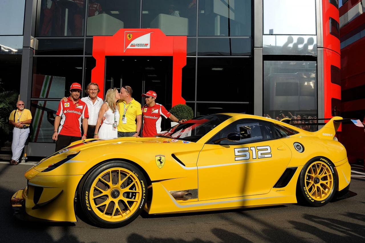 President of google engineering benjamin sloss a self confessed horsepower junkie won this ferrari 599xx evolution at an auction event earlier this