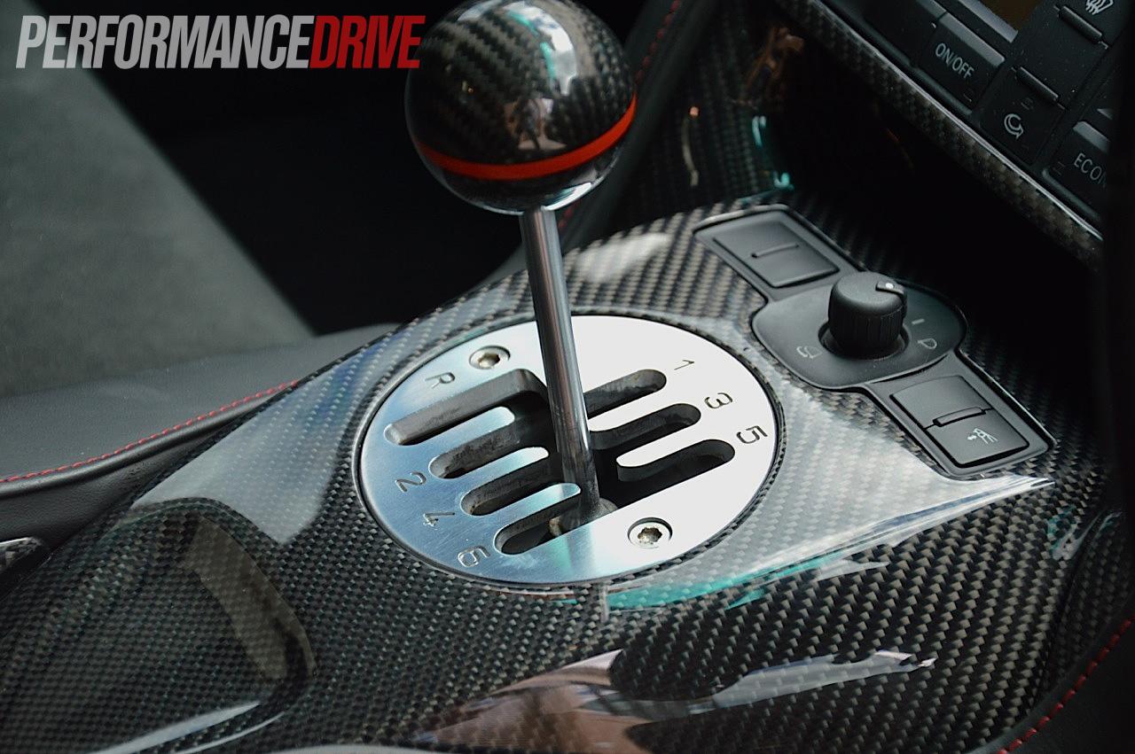 Ramspeed Lamborghini Gallardo Lp Carbon Gear Shifter on Range Rover Shifter