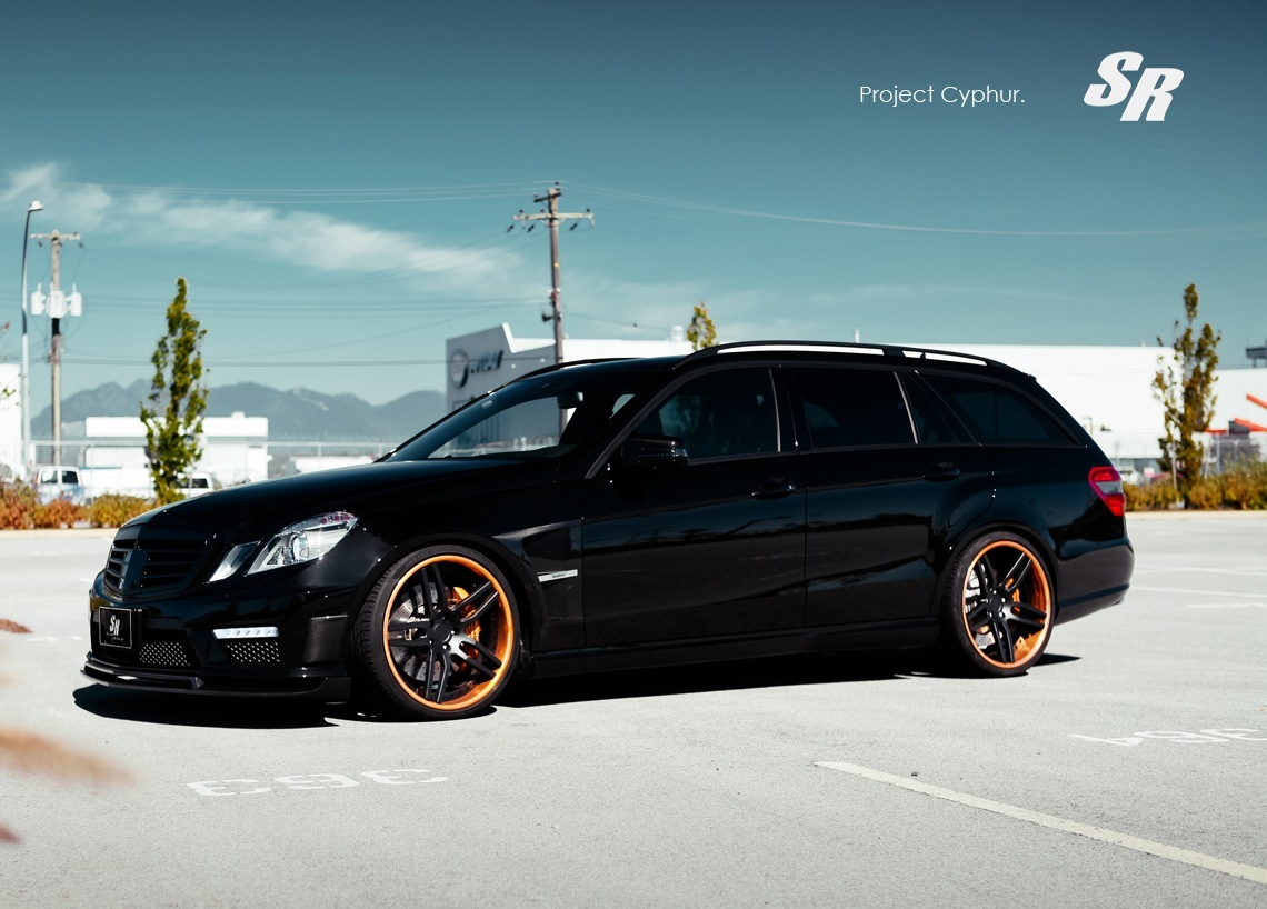 Brabus mercedes benz e 63 amg wagon is pure awesome for Auto mercedes benz