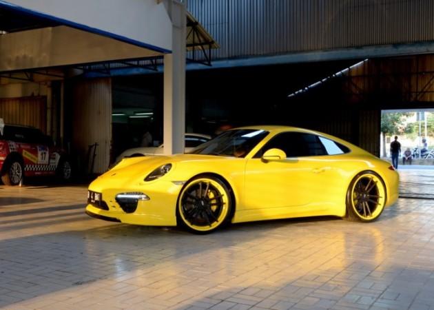 Techart Porsche 911 991 With 22 Inch Adv Wheels