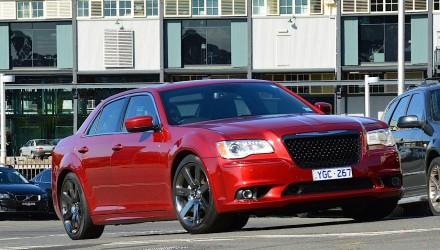 2012 Chrysler 300 SRT8 Deep Cherry Red