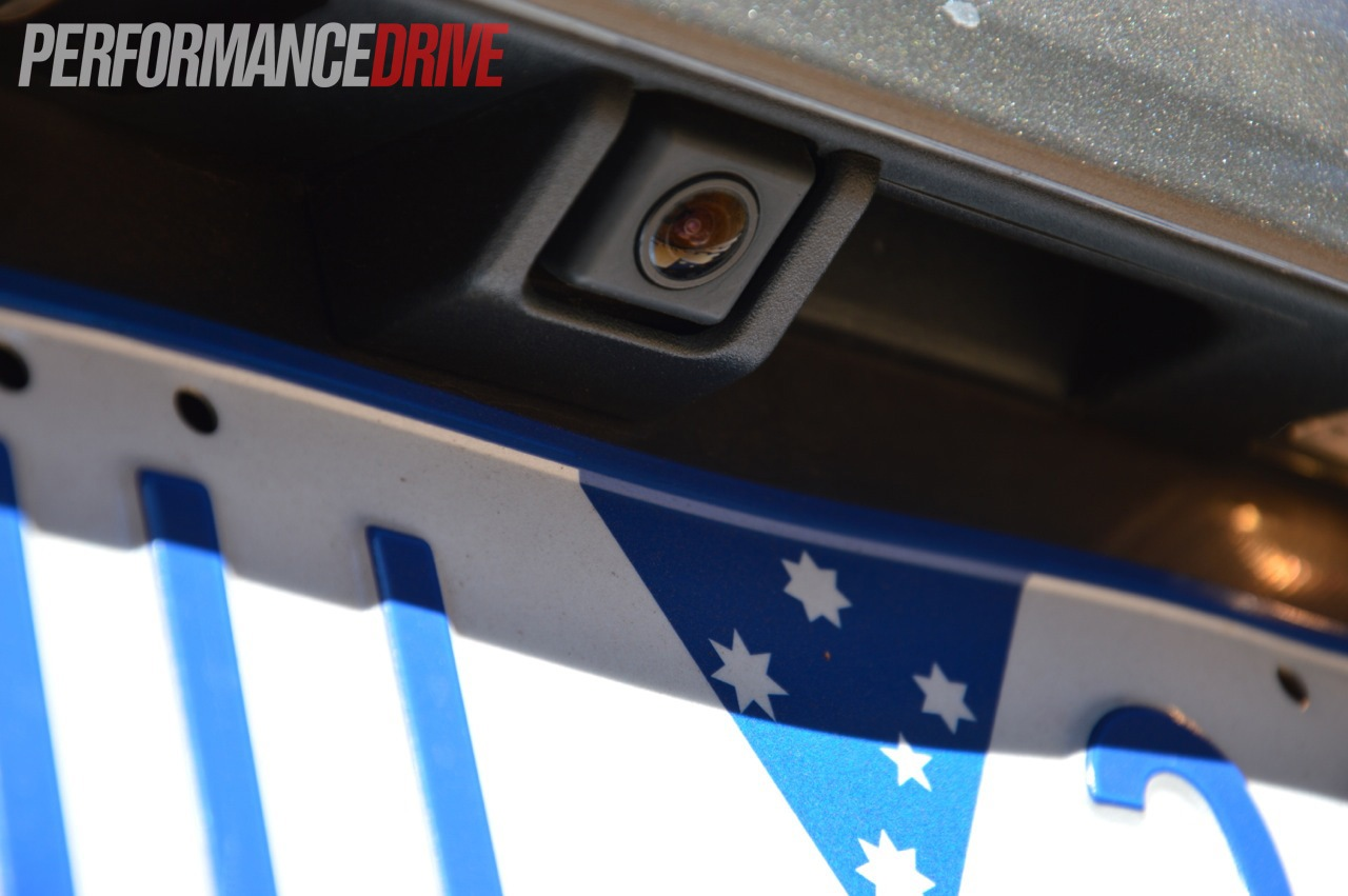2012 Ford Territory Titanium TDCi RWD reverse camera |