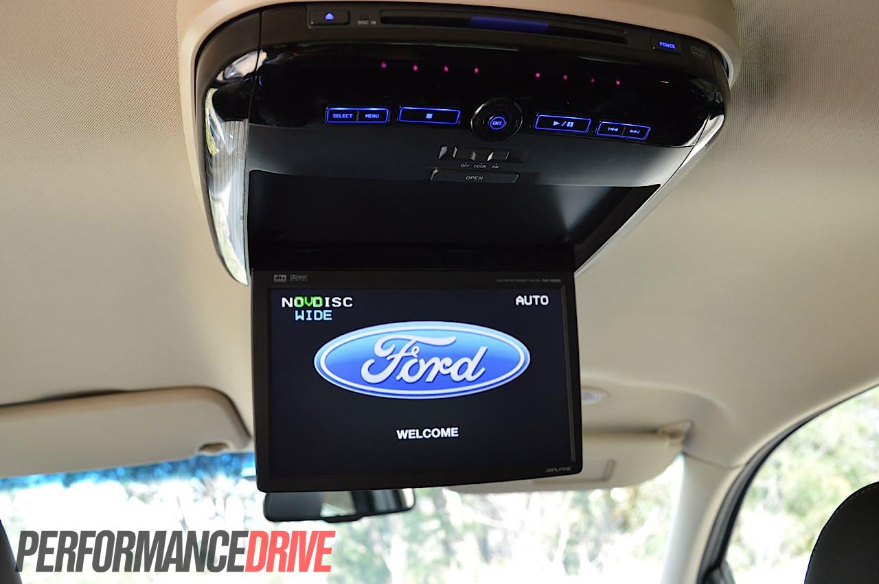 2012 Ford Territory Titanium Tdci Rear Alpine Dvd Player