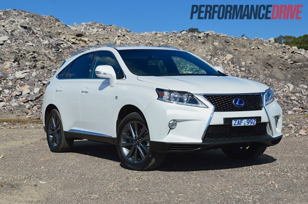 2012 lexus rx 450h f sport review performancedrive. Black Bedroom Furniture Sets. Home Design Ideas