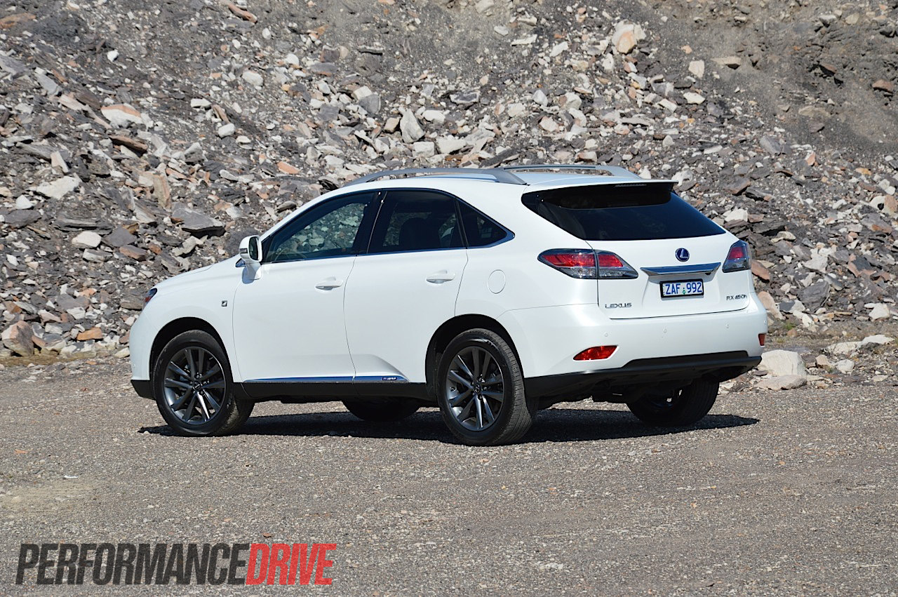 2012 lexus rx 450h f sport review performancedrive