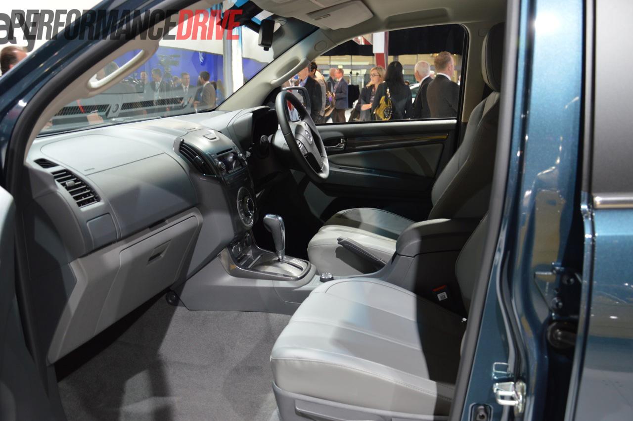 2013 Holden Colorado 7 Interior