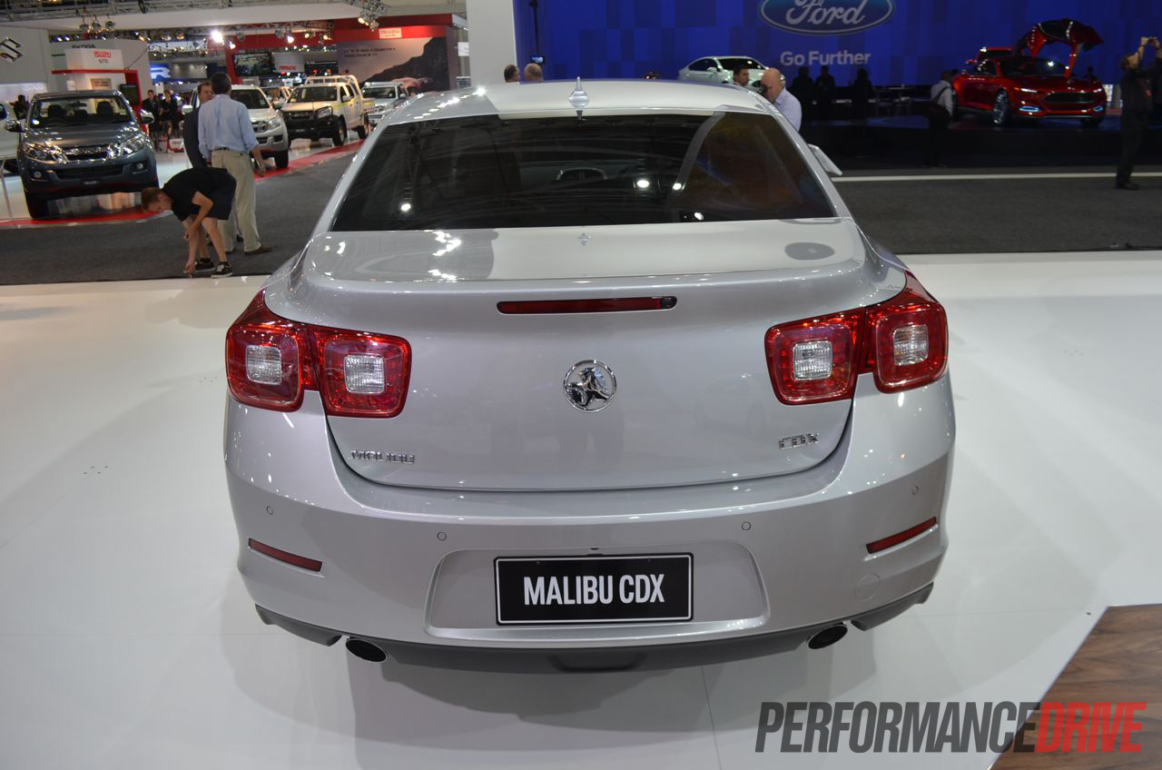 holden malibu makes local debut at 2012 australian motor