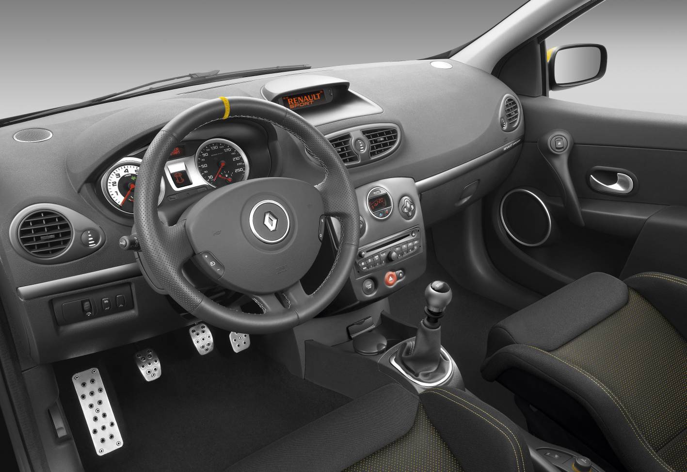 renault clio r s red bull interior. Black Bedroom Furniture Sets. Home Design Ideas