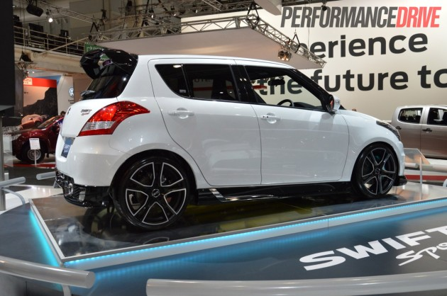 Suzuki Swift Sport Custom Revealed At 2012 Australian