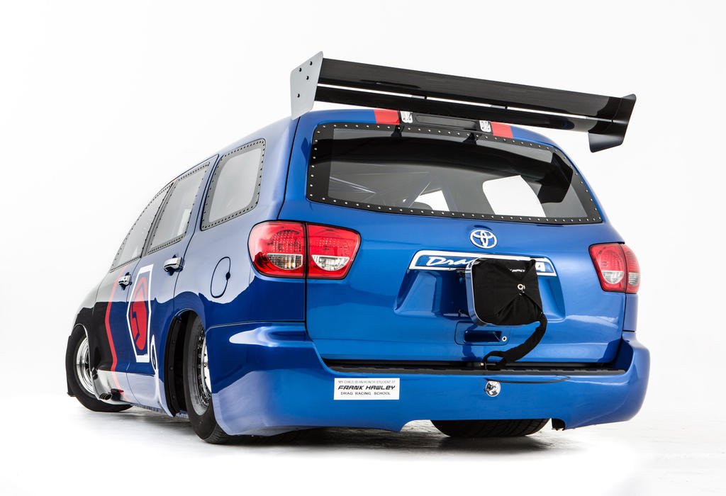 VWVortex.com - 650hp Toyota Sequoia Drag car, Rowdy Edition Camry at ...