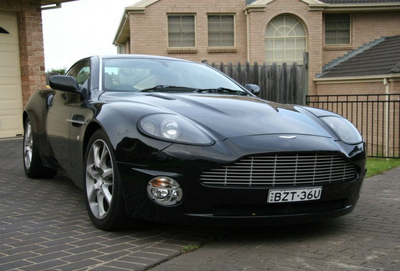 For Sale  2003 Aston Martin V12 Vanquish