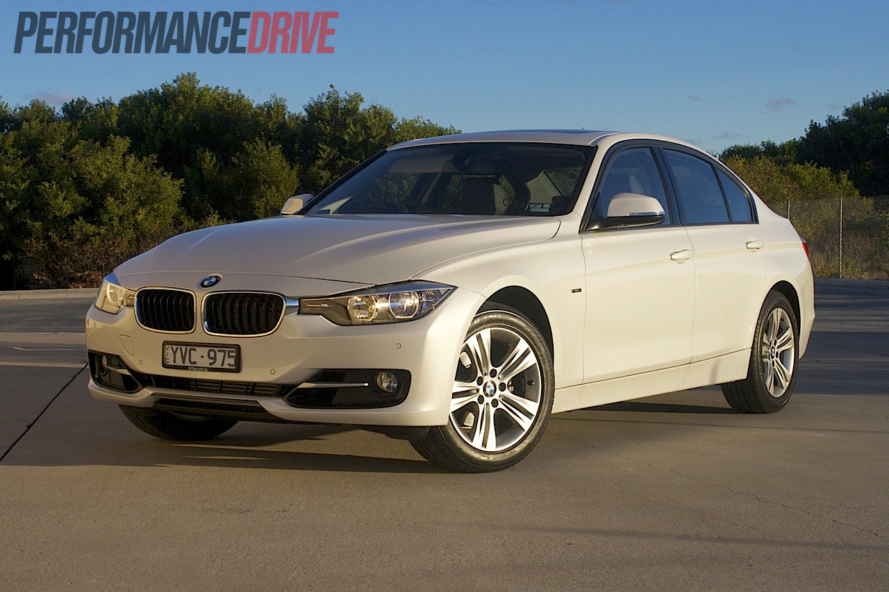 2012 BMW 320i F30 Sport Line review video  PerformanceDrive