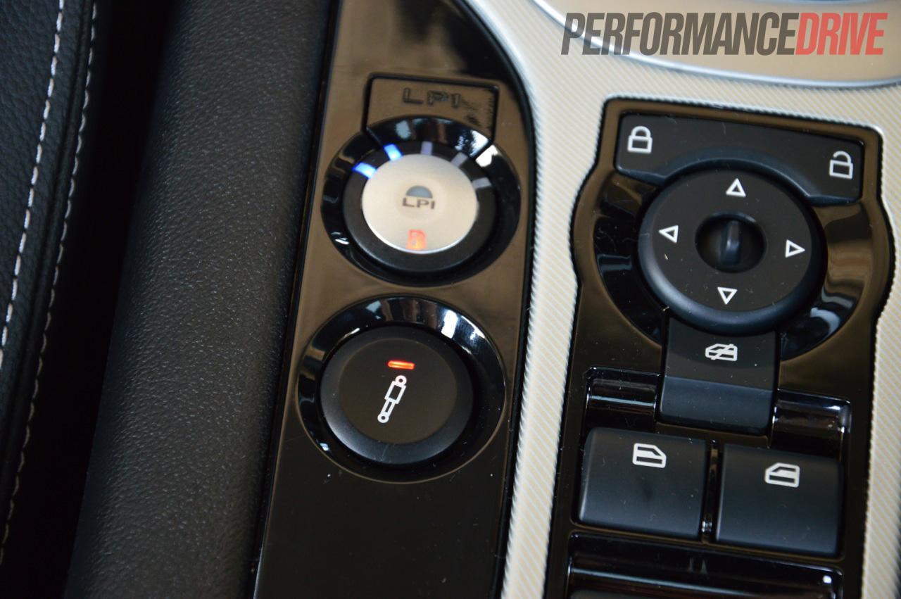 2012 Hsv Senator Signature Magnetic Ride Control Button