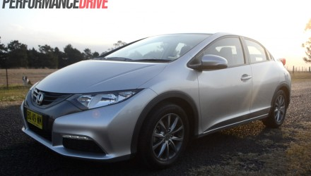 2012 Honda Civic VTi-S Hatch - side front
