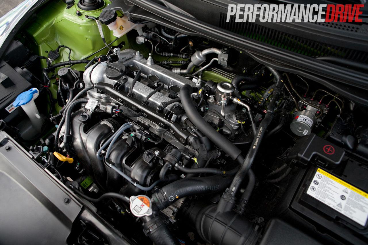 2012 Hyundai Veloster Plus Gdi Engine No Cover