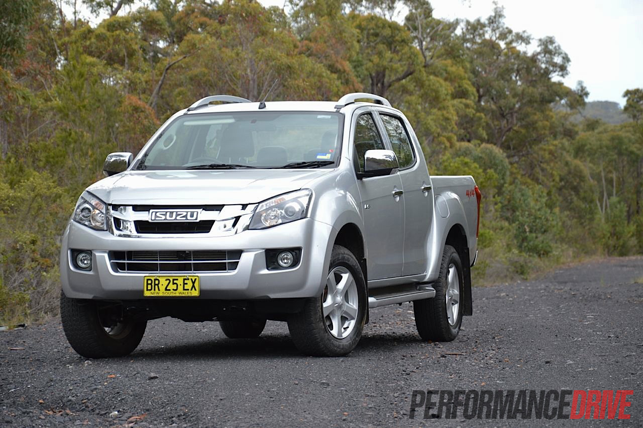2012 isuzu d max ls terrain 4x4 review performancedrive. Black Bedroom Furniture Sets. Home Design Ideas